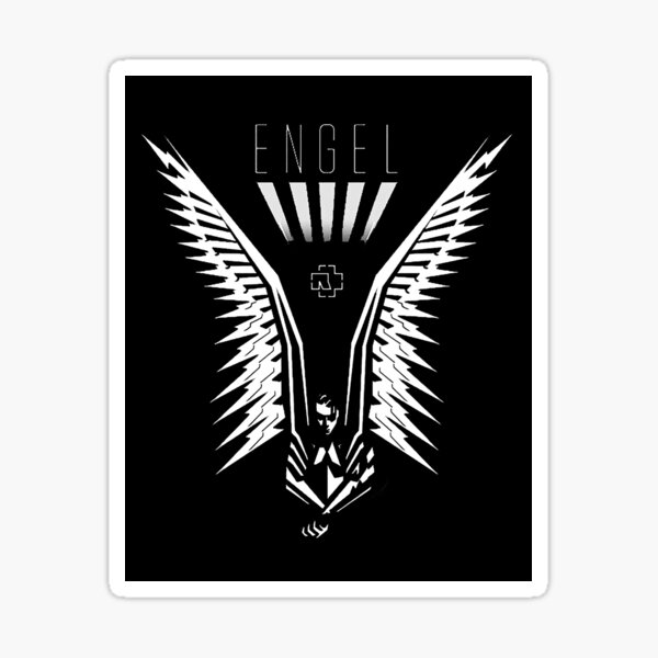 DU HAST ENGEL #VOL 2 Sticker