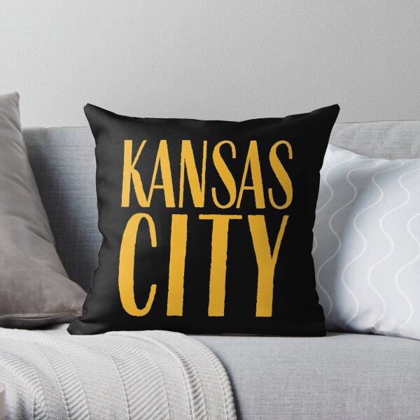 I Love Kansas City KC Football Missouri Throw Pillow