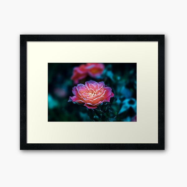 after glow  Framed Art Print