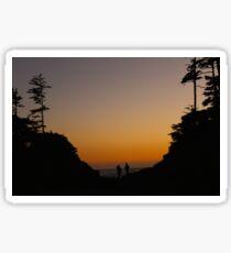 Tofino Sunset Sticker