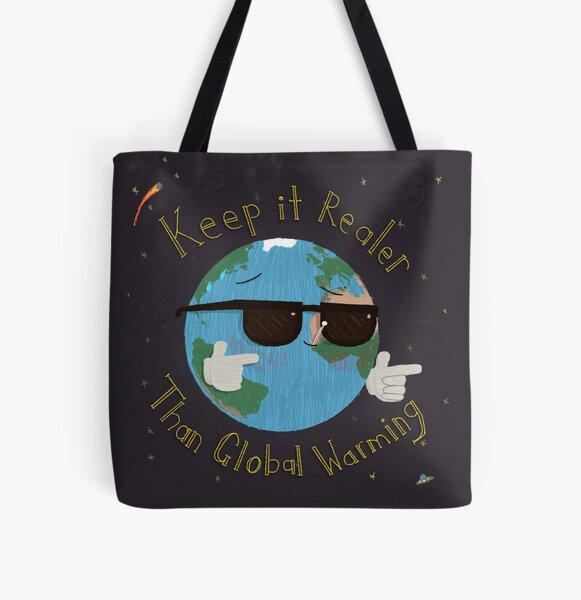 Keep it Real All Over Print Tote Bag