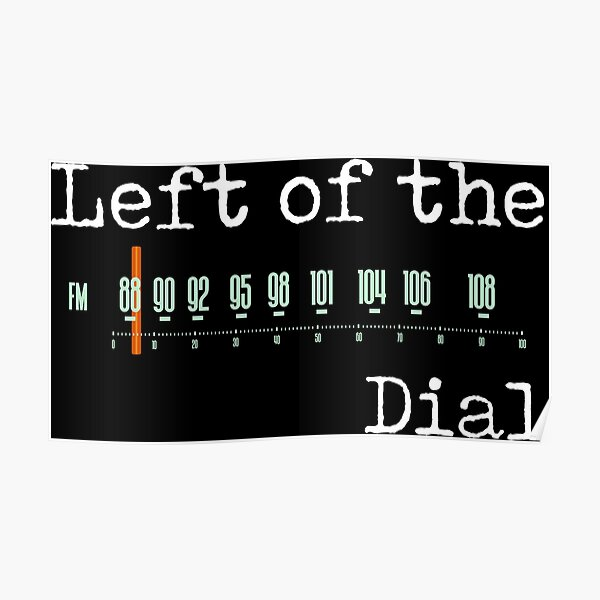 Left of the Dial Poster