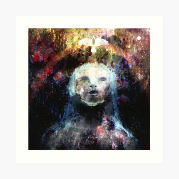 Galdra - Song of Becoming, Enchantment & Healing Art Print