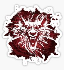 The White Wolf Sticker