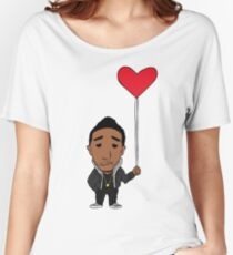 Lonely Heart Women's Relaxed Fit T-Shirt