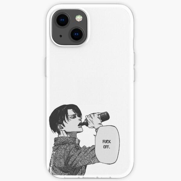 "Captain Levi ""Fuck off"" Attack on titan  iPhone Soft Case"