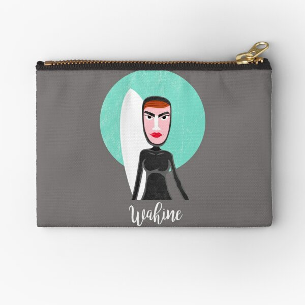Wahine - Lady surfer Zipper Pouch