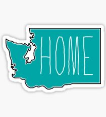 Washington Home Sticker