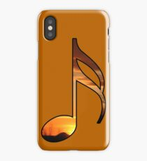 Notes-Sunset iPhone Case/Skin