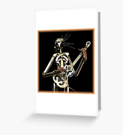 Metal Band ~ Part Two Greeting Card