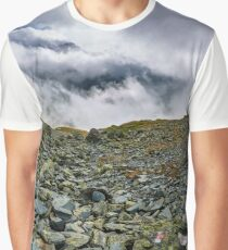 Mountains and clouds landscape Graphic T-Shirt