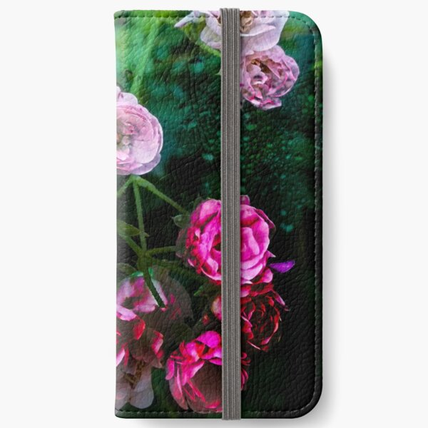 Rose Rush iPhone Wallet