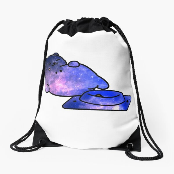 Galaxy Wither Storm Drawstring Bag By 2sp00ki4u Redbubble