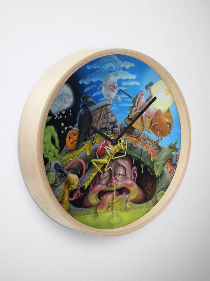Alternate view of Last Days of the Plague Clock
