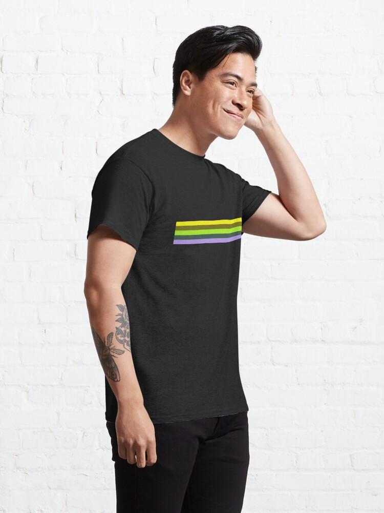 Alternate view of Adrien Shirt Pattern Classic T-Shirt