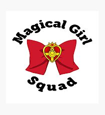 Magical Girl Squad - Sailor Moon Photographic Print