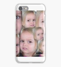 confused little blond girl case iPhone Case/Skin