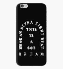 Ultralight Beam - Black and White iPhone Case