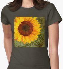 Summer Sun Verdant Afternoon Sunflower Garden T-Shirt