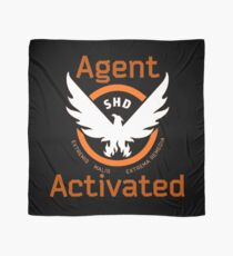 The Division Agent Activated Scarf