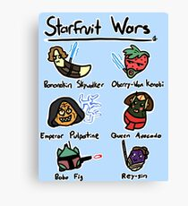 Starfruit Wars Canvas Print