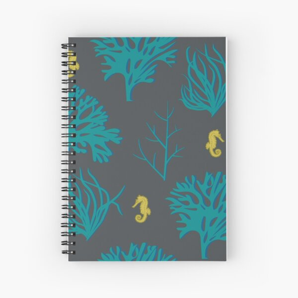 Seahorses Among the Coral Spiral Notebook