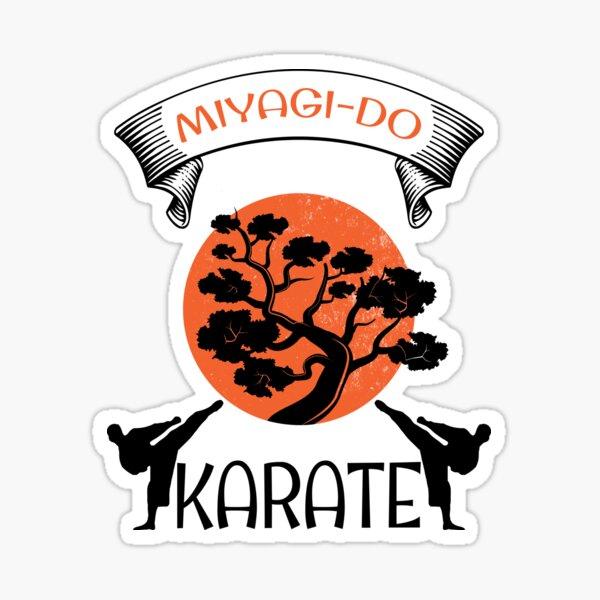 Cobra Kai Strike First Pack of 2 Vinyl Sticker Sign 3 Sizes Miyagi-Do Karate