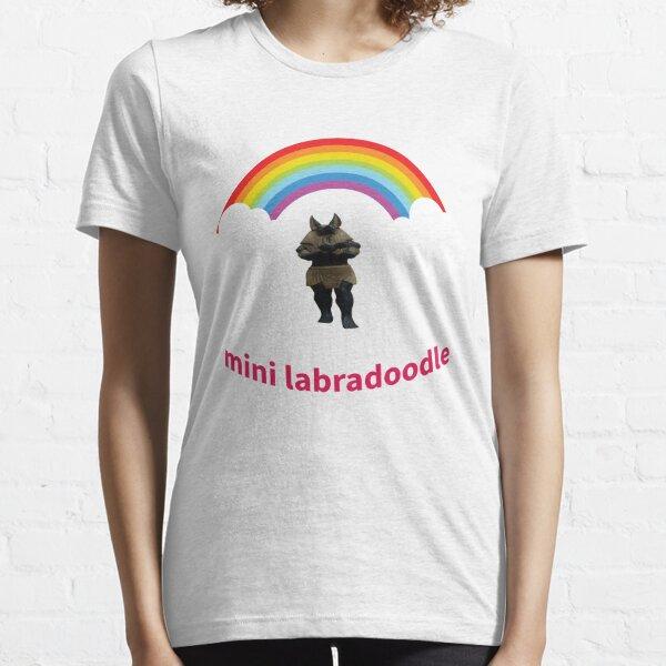 T-shirt mini labradoodle for Boyfriend Present Essential T-Shirt