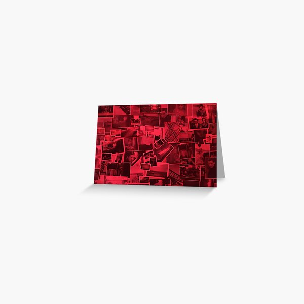 Red Lights Greeting Card