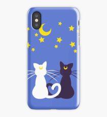Moon Kitties iPhone Case/Skin