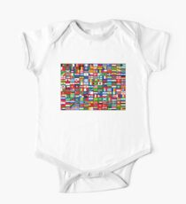 The World's Flags Short Sleeve Baby One-Piece