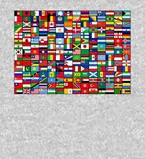 Die Flaggen der Welt Kinder Hoodie