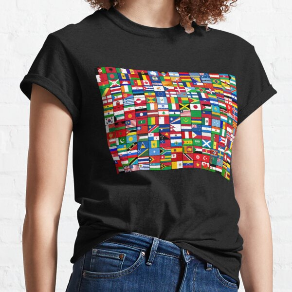 The World's Flags Classic T-Shirt
