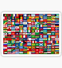 The World's Flags Sticker