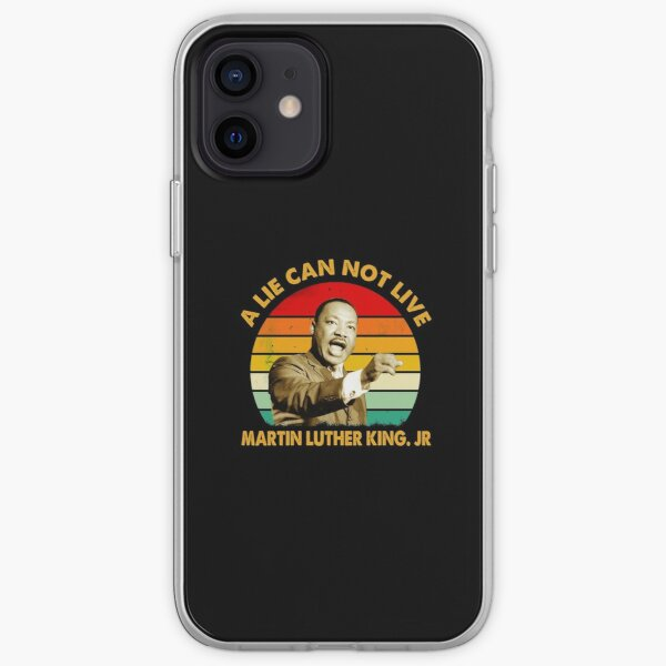 quotes by martin luther king jr a lie can not live iPhone Soft Case