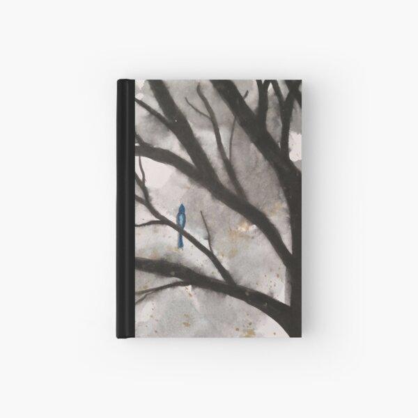 Bluebird Singing at Dusk Hardcover Journal