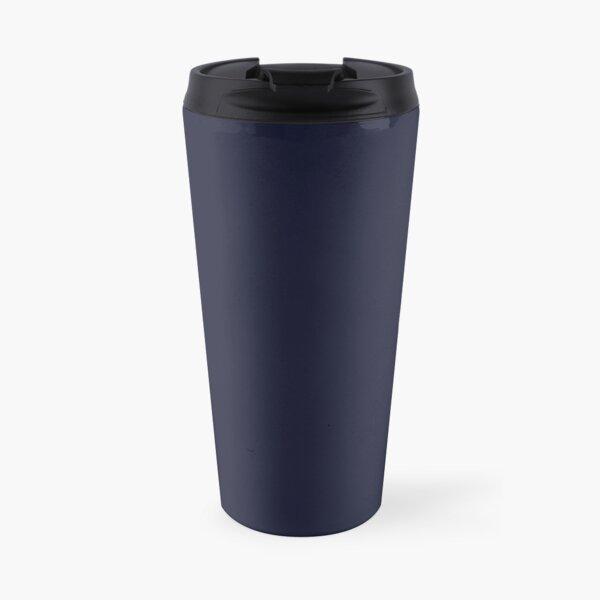 Design de serpent entourant une goutte d'eau - argenté bleu Mug isotherme