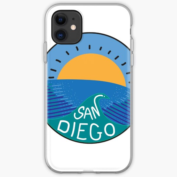 San Diego iPhone Soft Case