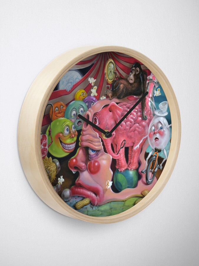 Alternate view of Circus of Delusion Clock