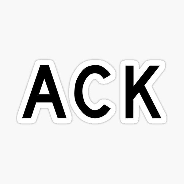 ACK - Nantucket Memorial Airport Sticker