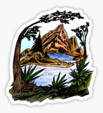 The Outdoors Sticker