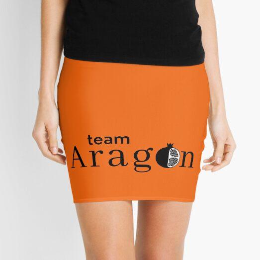 Six Team Aragon, Tudor Queen Catherine of Aragon slogan Mini Skirt