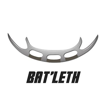 Parent and baby - Klingon Batleth by linesdesigns