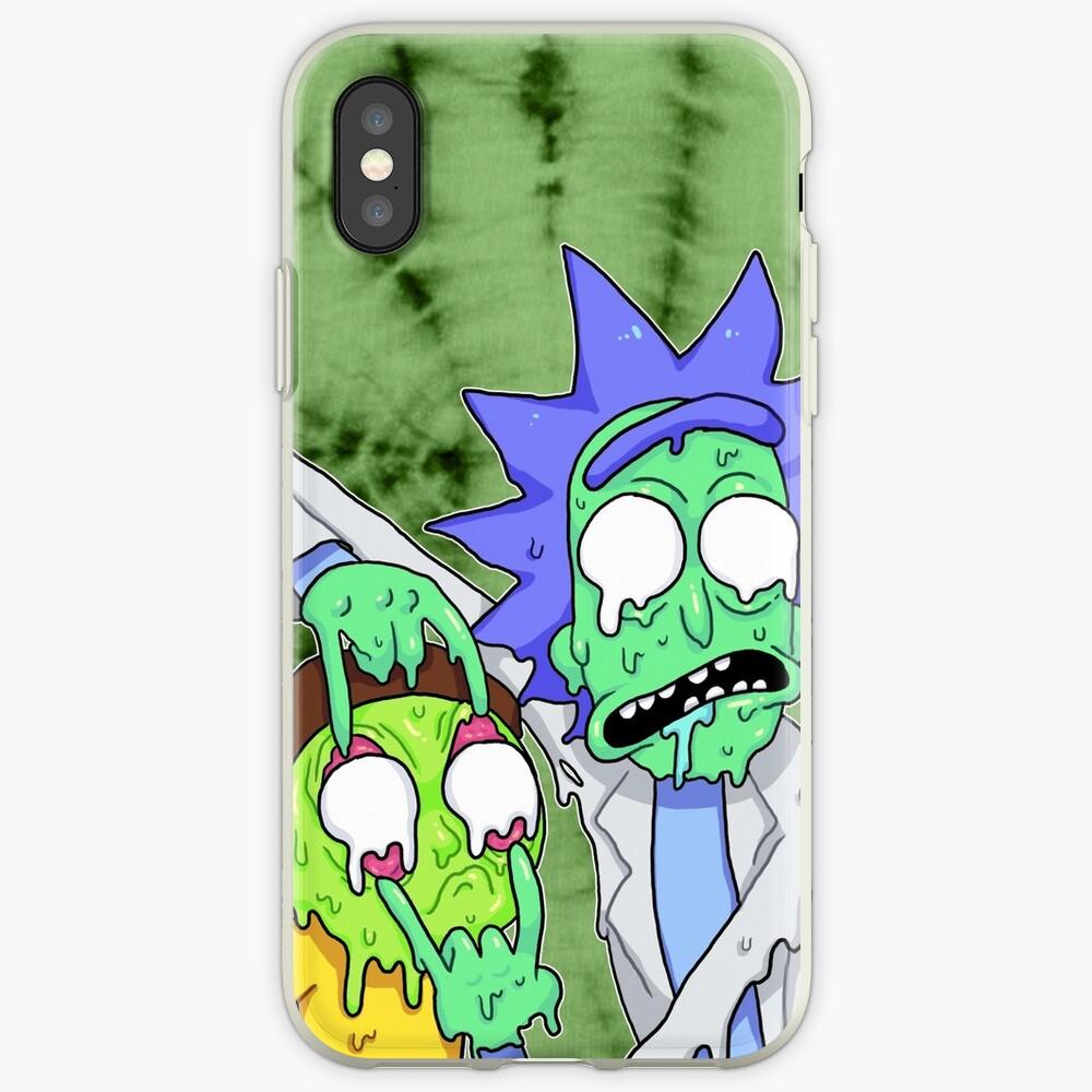 Coque iPhone «Rick et Morty»