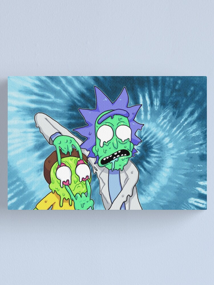 Alternate view of Rick and Morty  Canvas Print