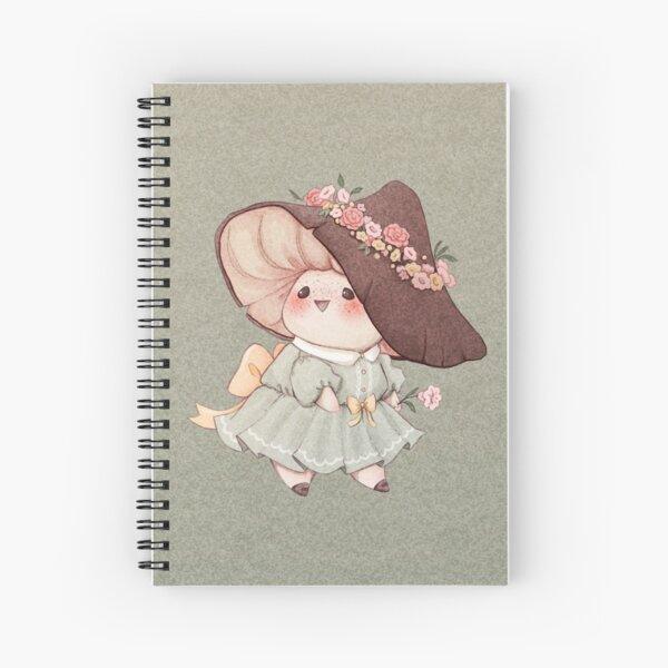 Cute Flower Mushroom  Spiral Notebook