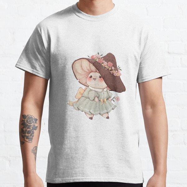 Cute Flower Mushroom  Classic T-Shirt