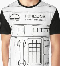 Horizons Load Console Control Panel Diagram from Epcot Graphic T-Shirt