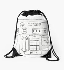 Horizons Load Console Control Panel Diagram from Epcot Drawstring Bag