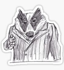 Badger (textless) Sticker